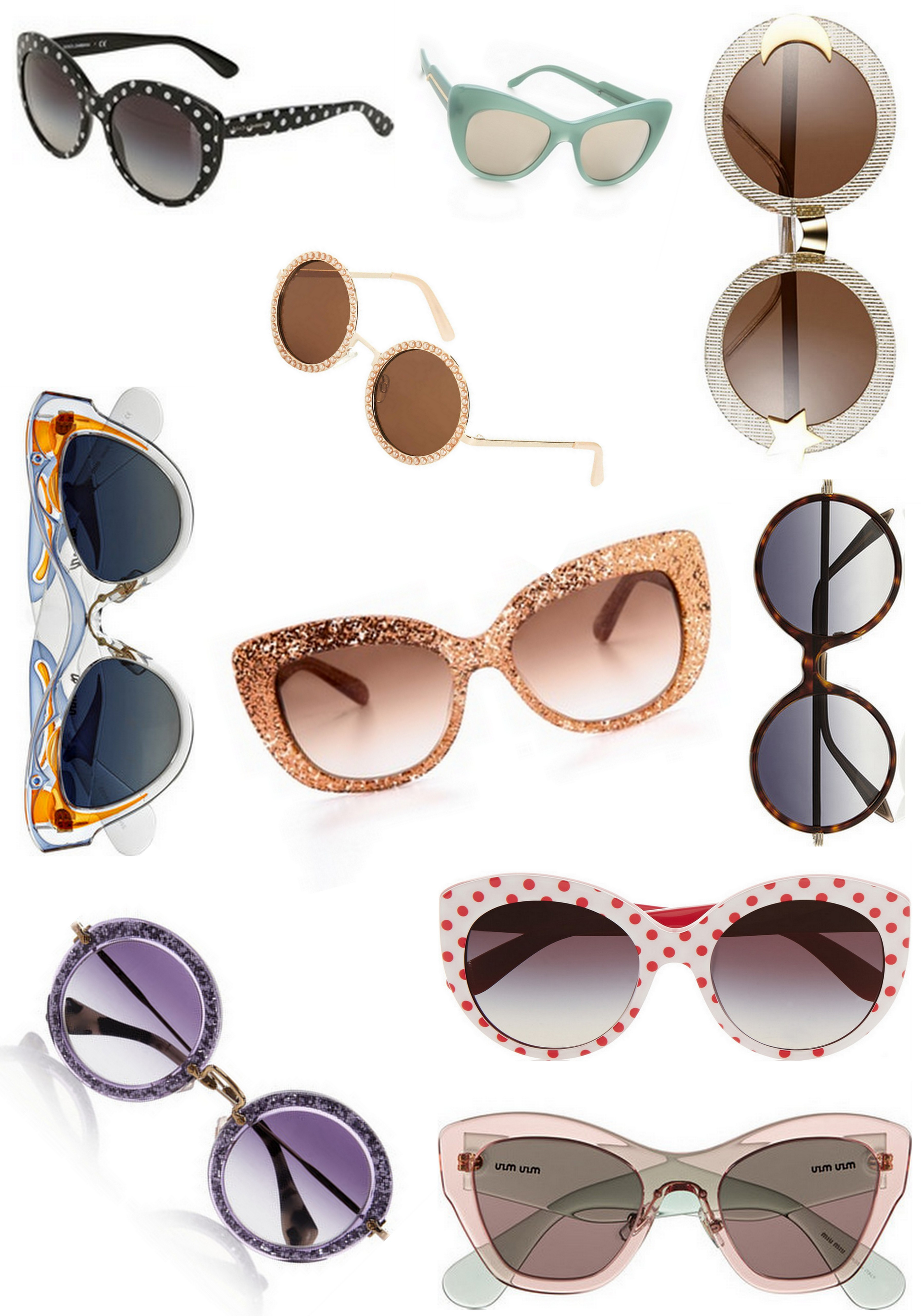 Retro Sunglasses: To Style With Love