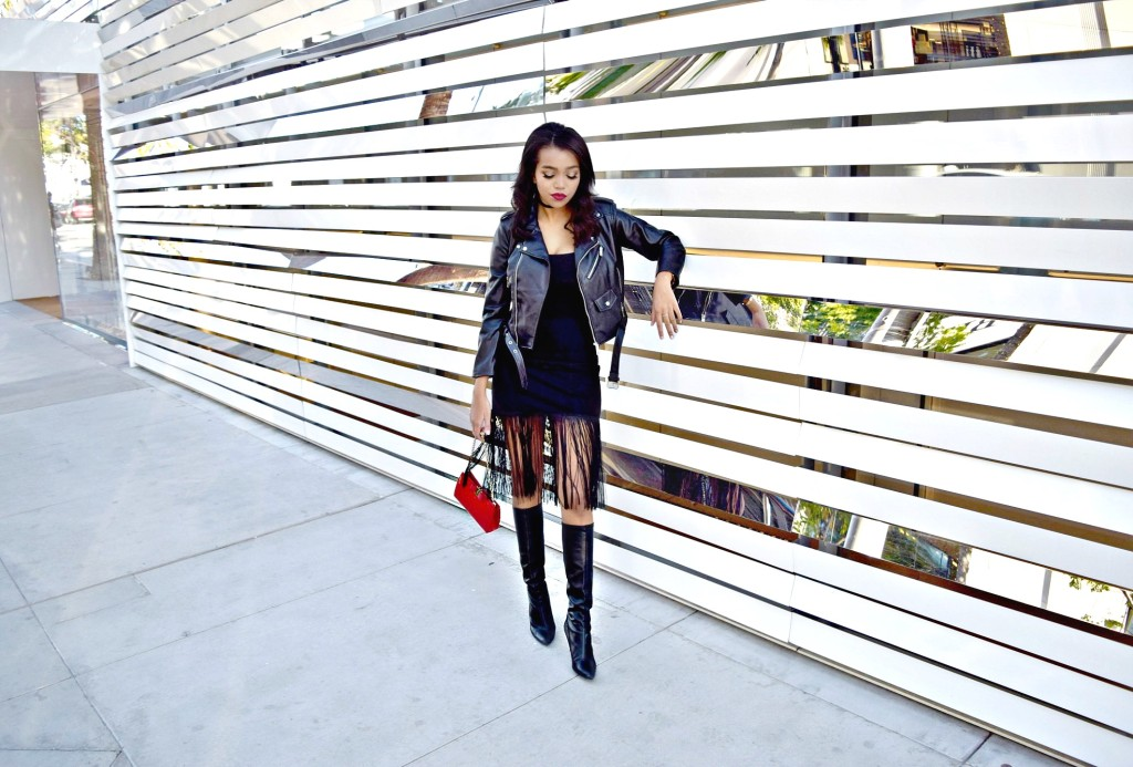 Leather Jacket Holiday Look: To Style, With Love