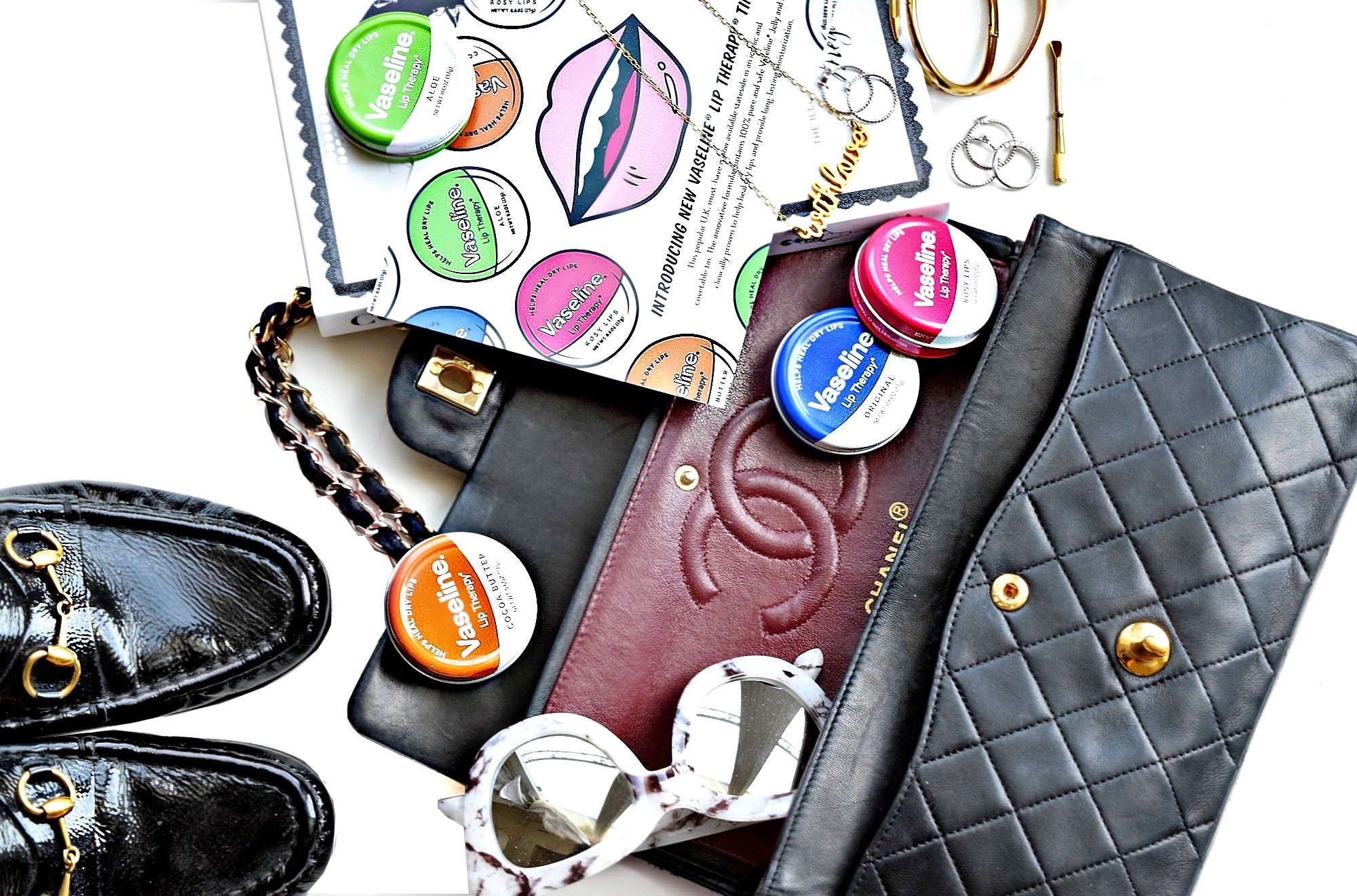 Vaseline Lip Therapy Tins: To Style, With Love