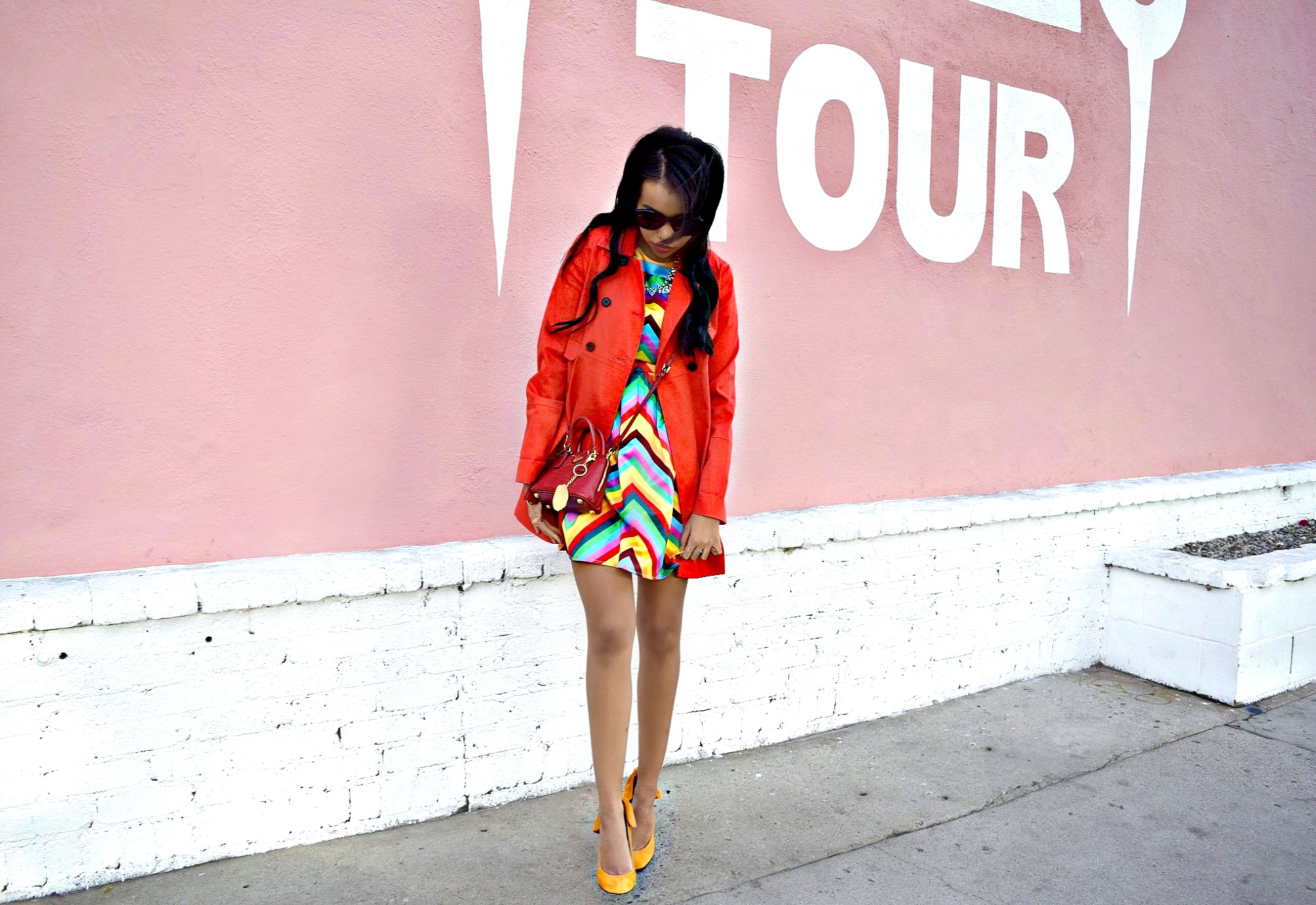 Rainbow Valentino Dress: To Style, With Love