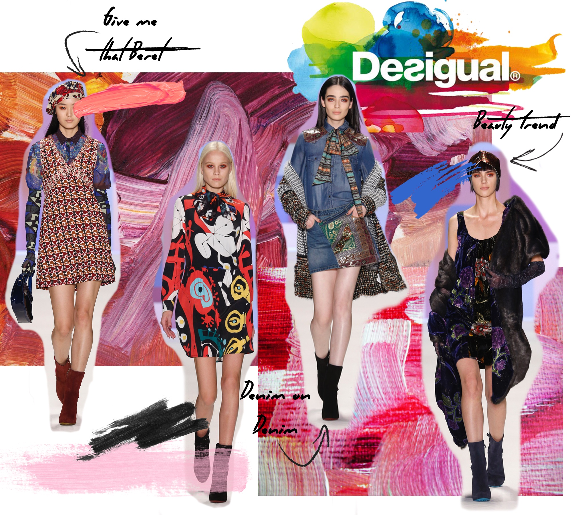 Desigual Fall 2016 Runway Show/ New York Fashion Week: To Style, With Love