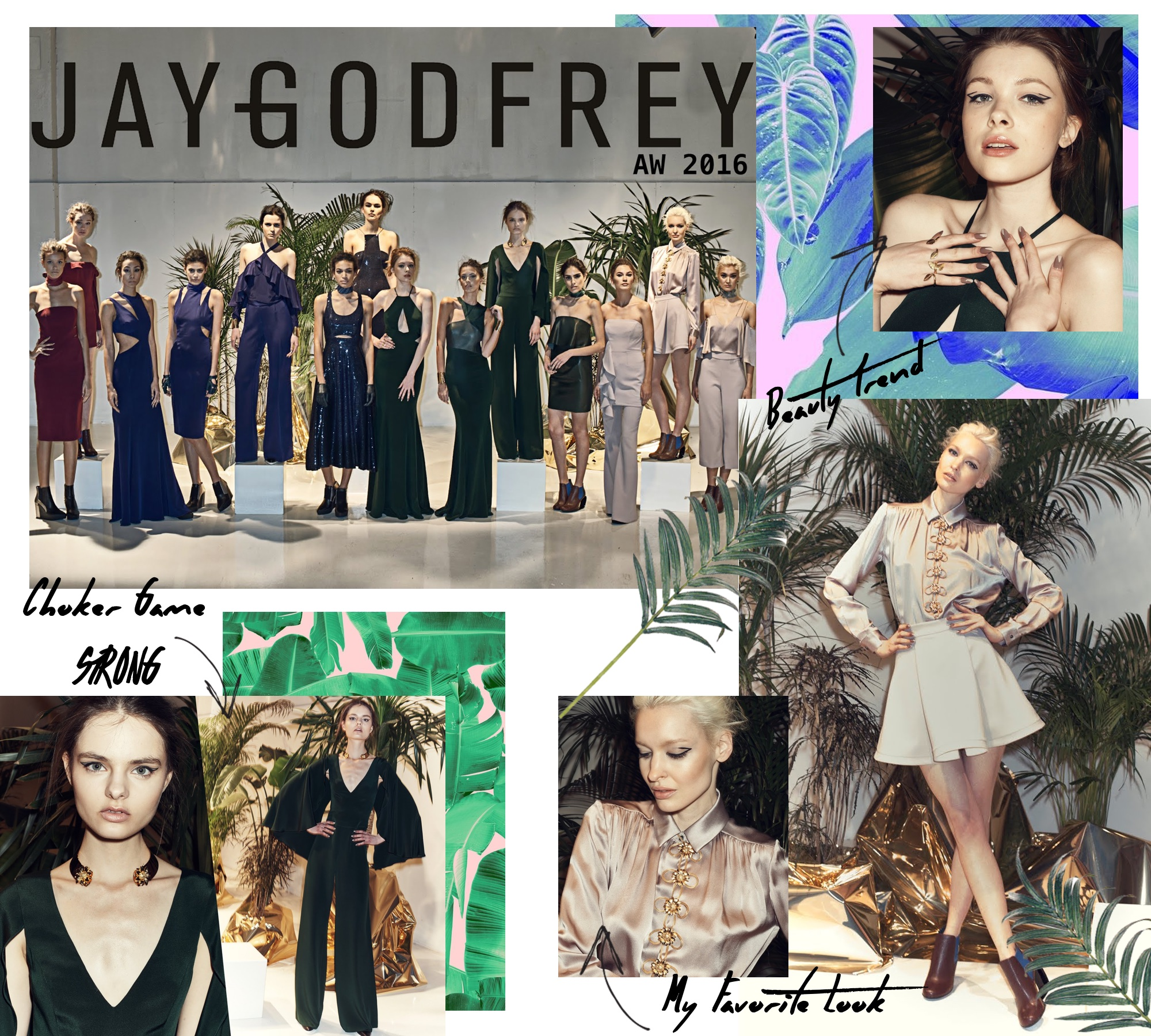 Jay Godfrey FW16 Presentation/ New York Fashion Week: To Style, With Love