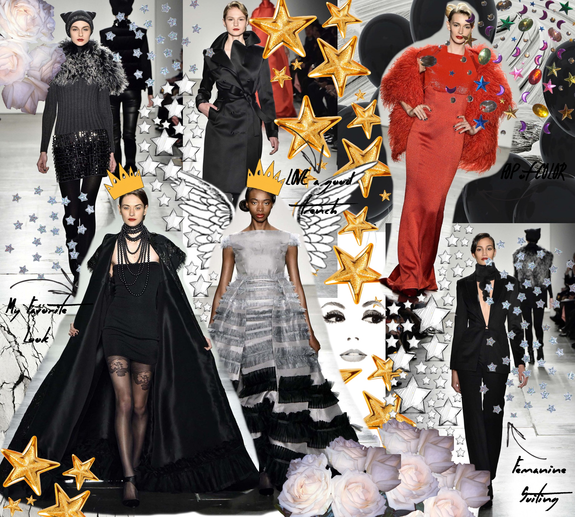 Zang Toi Fall 2016 Runway Show New York Fashion Week: To Style, With Love