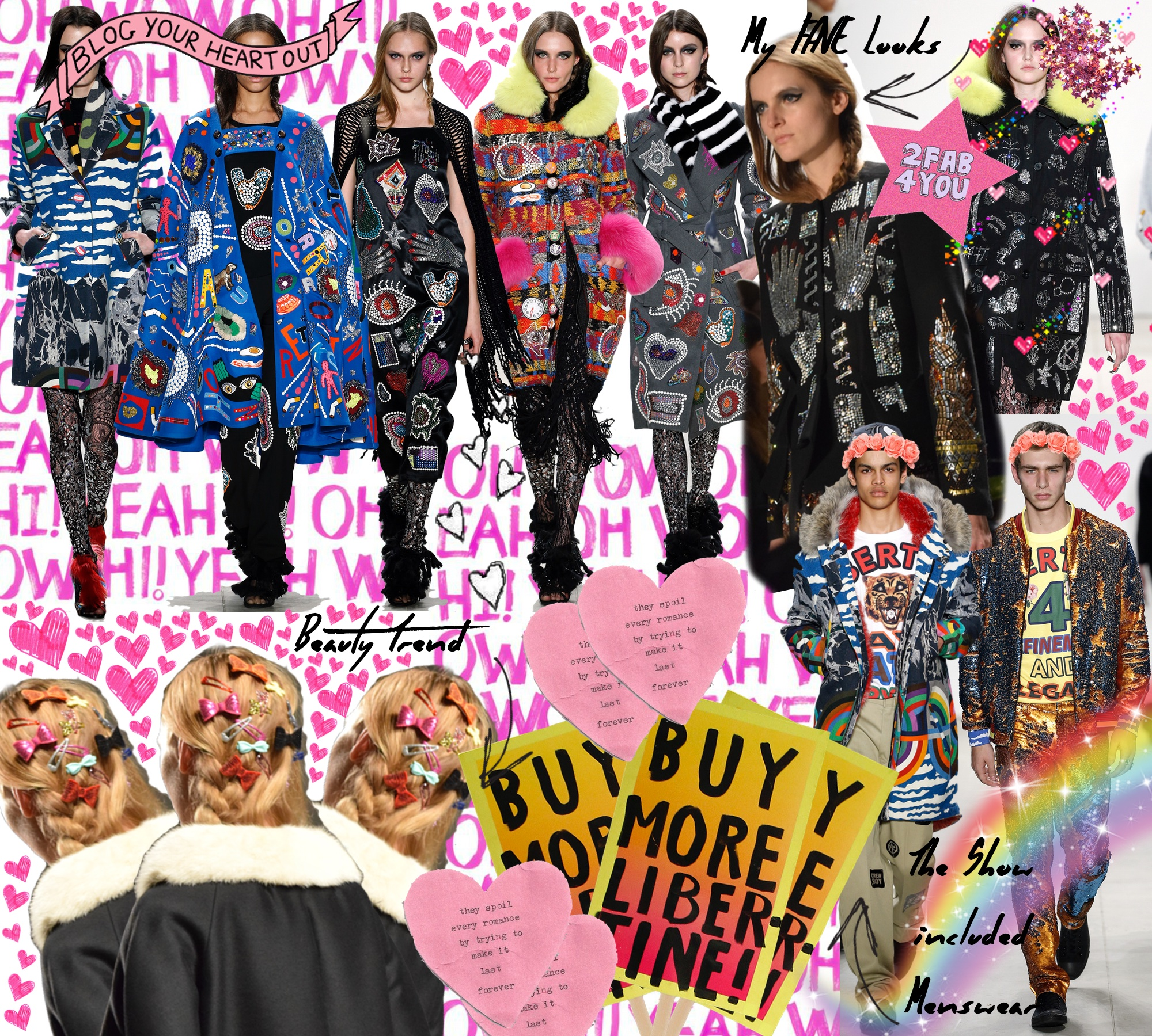 Libertine Fall 2016 Runway Show New York Fashion Week: To Style, With Love
