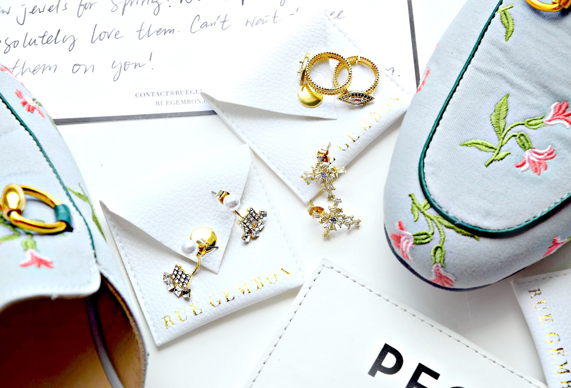 Brand Love | Rue Gembon Spring Jewelry: To Style, With Love