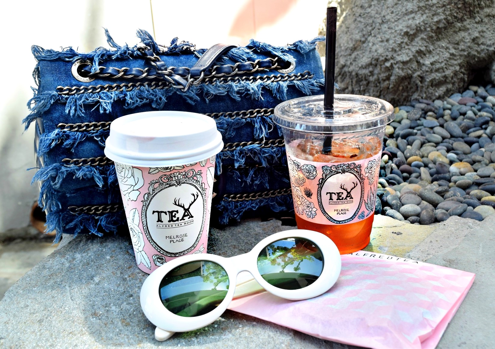 Alfred's Tea Room | Melrose Place, Los Angeles Spring/Summer Street Style: To Style, With Love