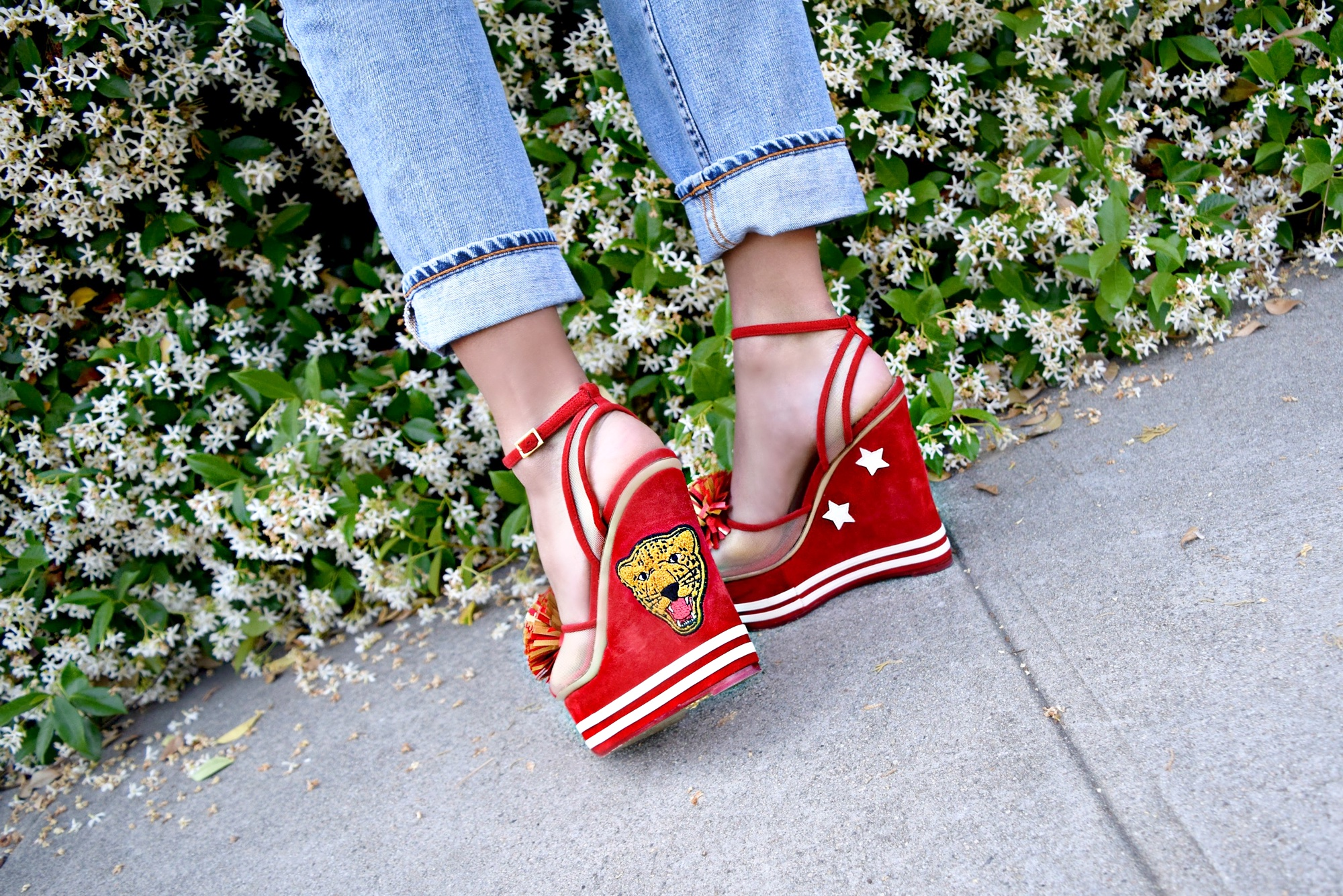 Charlotte Olympia Wedge Heels, Spring Street Style Inspiration: To Style, With Love