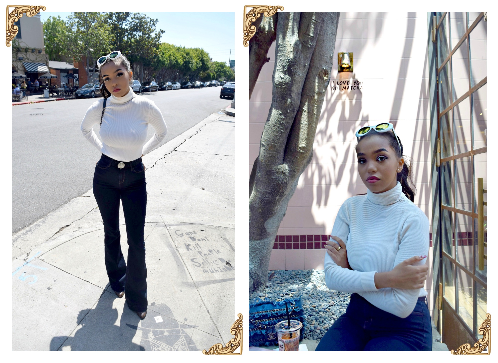 Alfred's Tea Room   Melrose Place, Los Angeles Spring/Summer Street Style: To Style, With Love