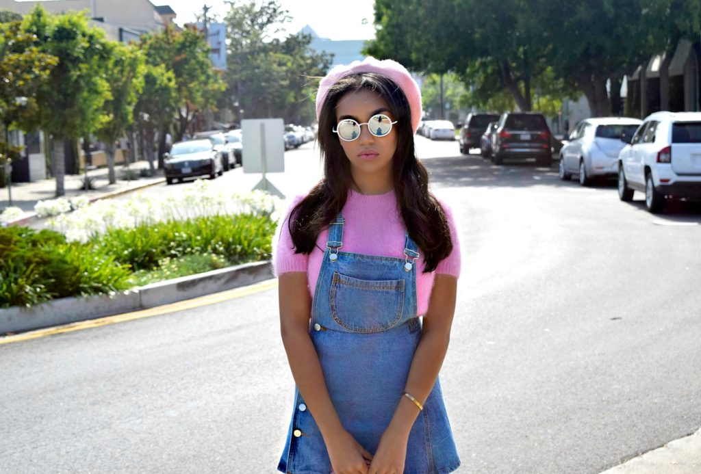Pink Baby Beret & Denim: To Style, With Love