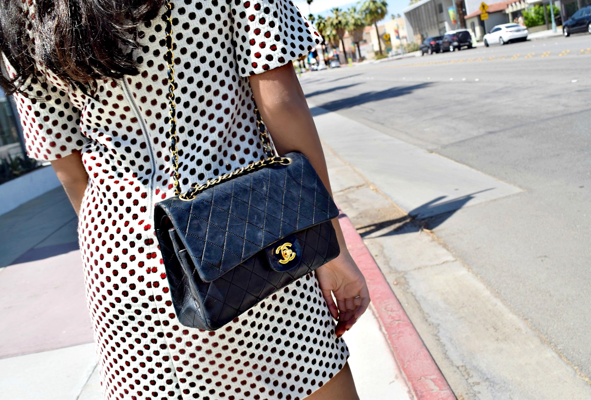 Vintage Chanel Flap Bag Details Palm Springs: To Style, With Love