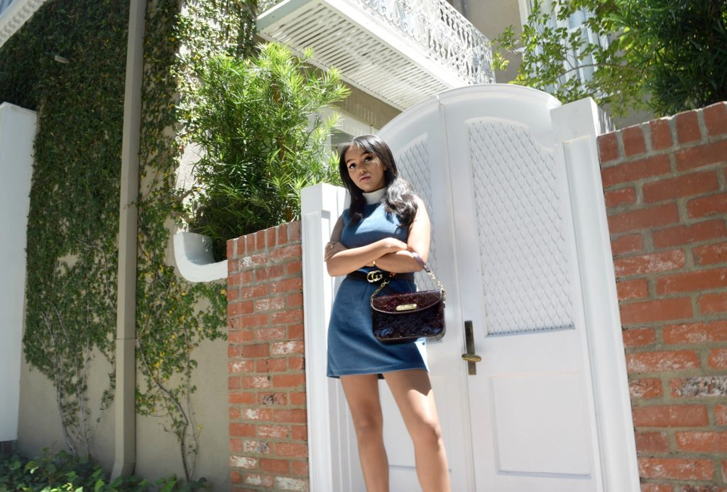 Louis Vuitton Bag & Gucci Belt Details, Los Angeles Spring/Summer street style: To Style, With Love