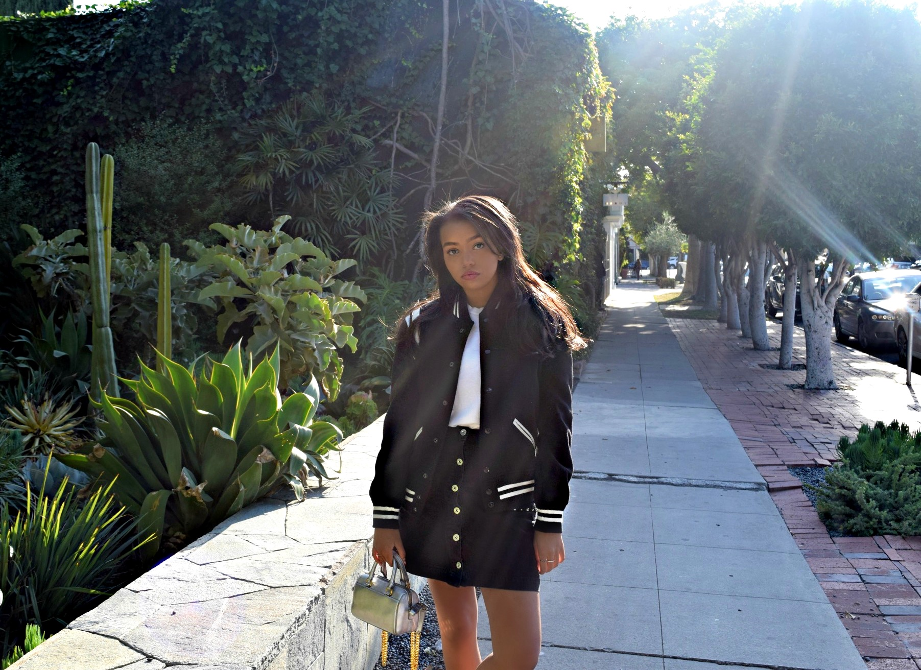 YSL Bomber Jacket, Los Angeles Spring/Summer Street Style: To Style, With Love