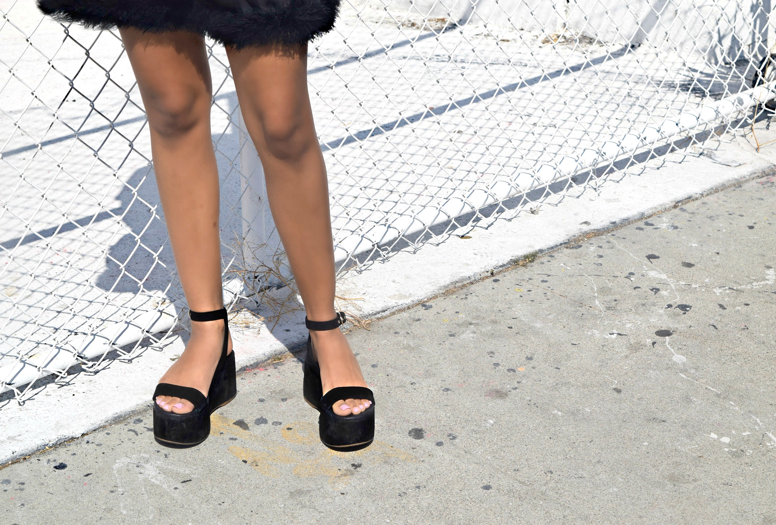 Chanel Flatforms Details Shot, Los Angeles Spring/Summer Street Style: To Style, With Love