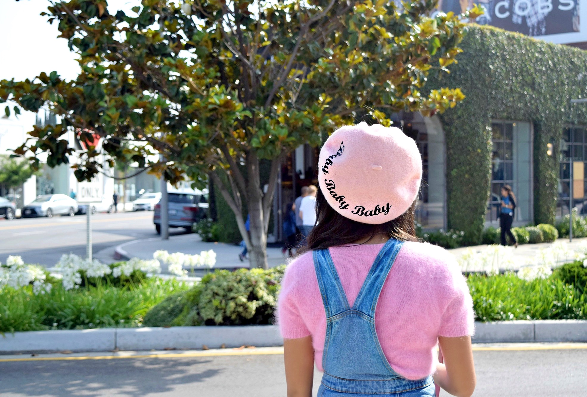 Vintage Pink Baby Baby Baby Beret: To Style, With Love