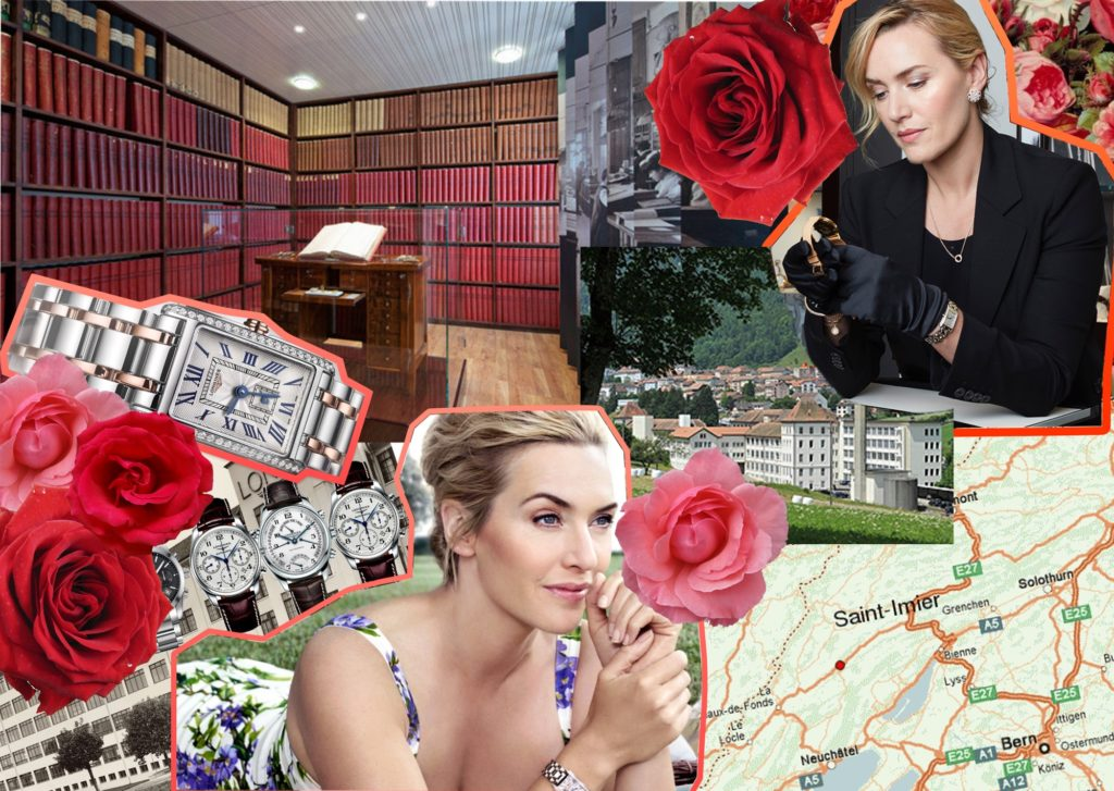 Longines welcomes Ambassador of Elegance Kate Winslet to Saint-Imier: To Style, With Love