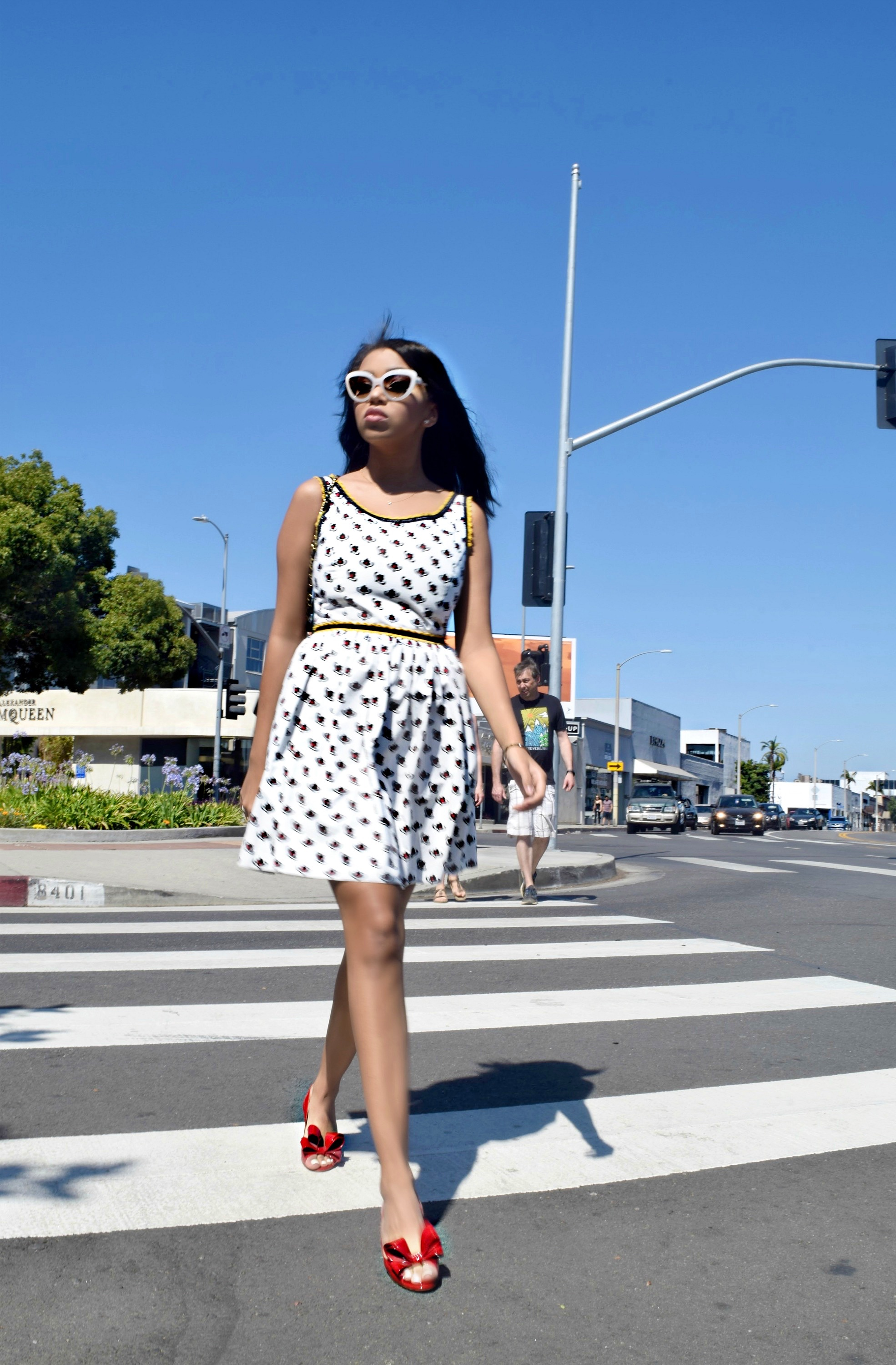Miu Miu Dress, Los Angeles Spring/Summer Street Style & Fashion: To Style, With Love