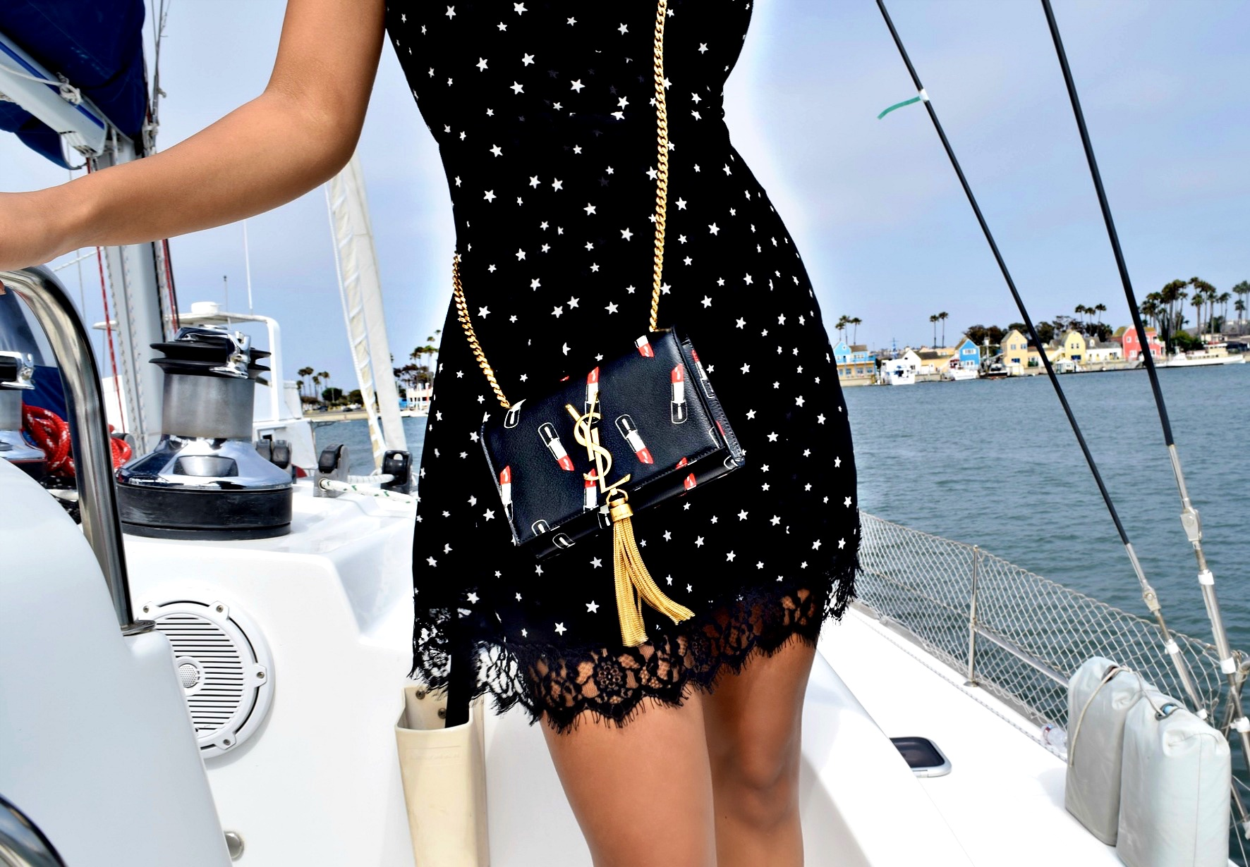 Reformation Dress & YSL Crossbody Bag Details: To Style, With Love