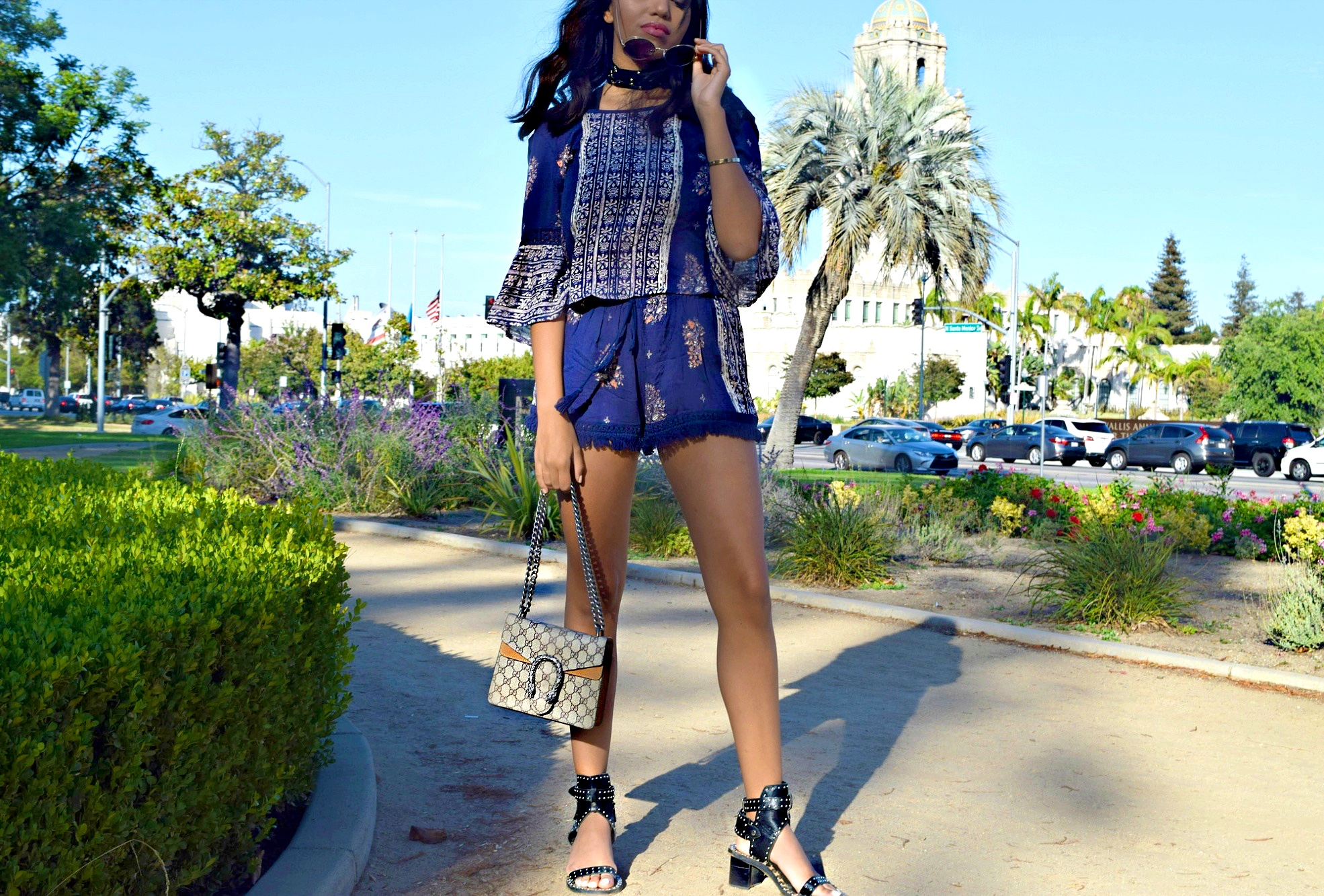 Band Of Gypsies Set + Ettika Star Choker // Boho In Beverly Hills // Los Angeles Blogger // Summer Street Style : To Style, With Love