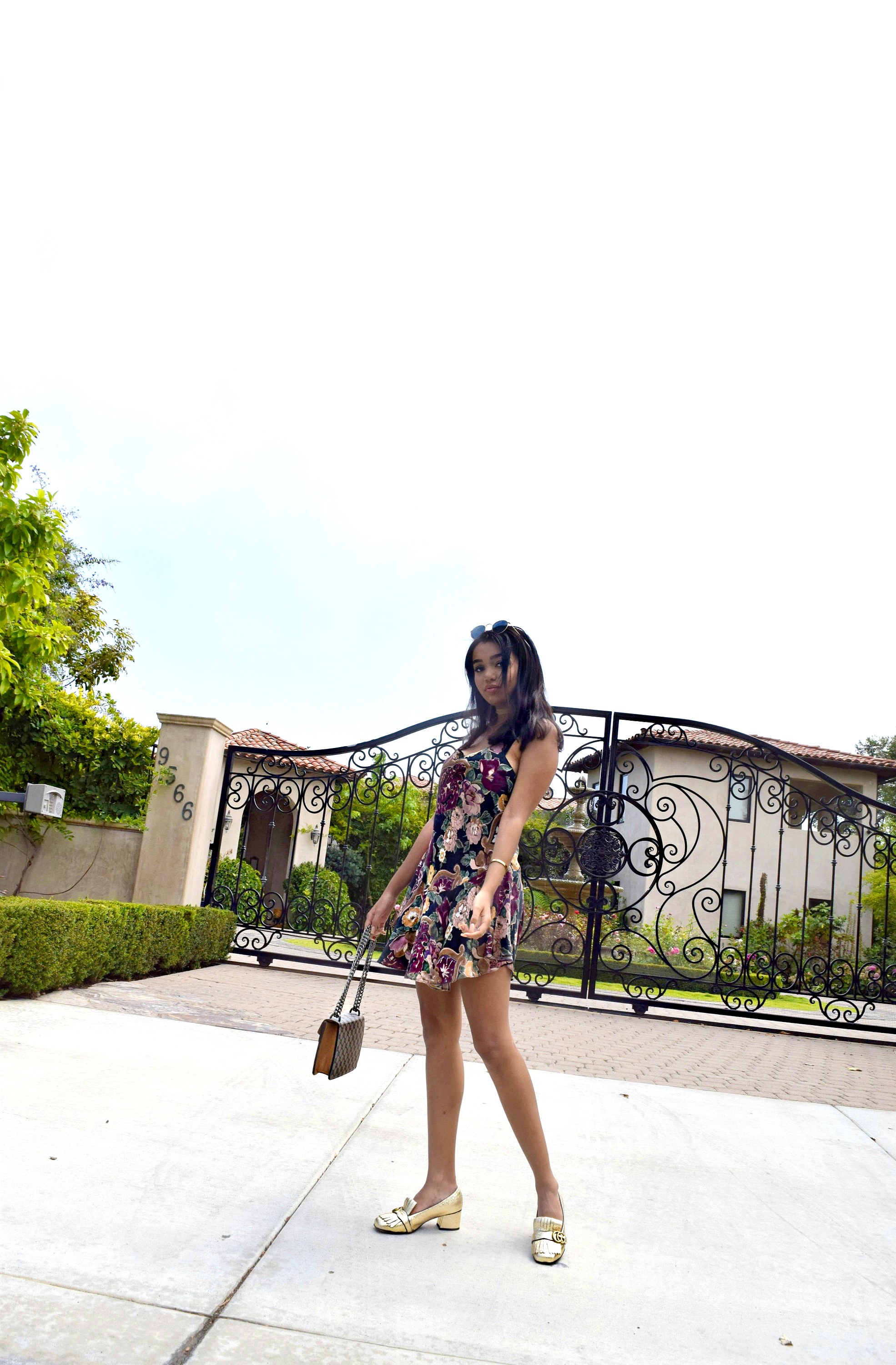 Stay Classy San Diego // San Diego Summer Vacation Street Style //Gucci Loafers & Bag // Vintage Reformation Dress // Los Angeles Fashion Blogger Daphne Blunt: To Style, With Love