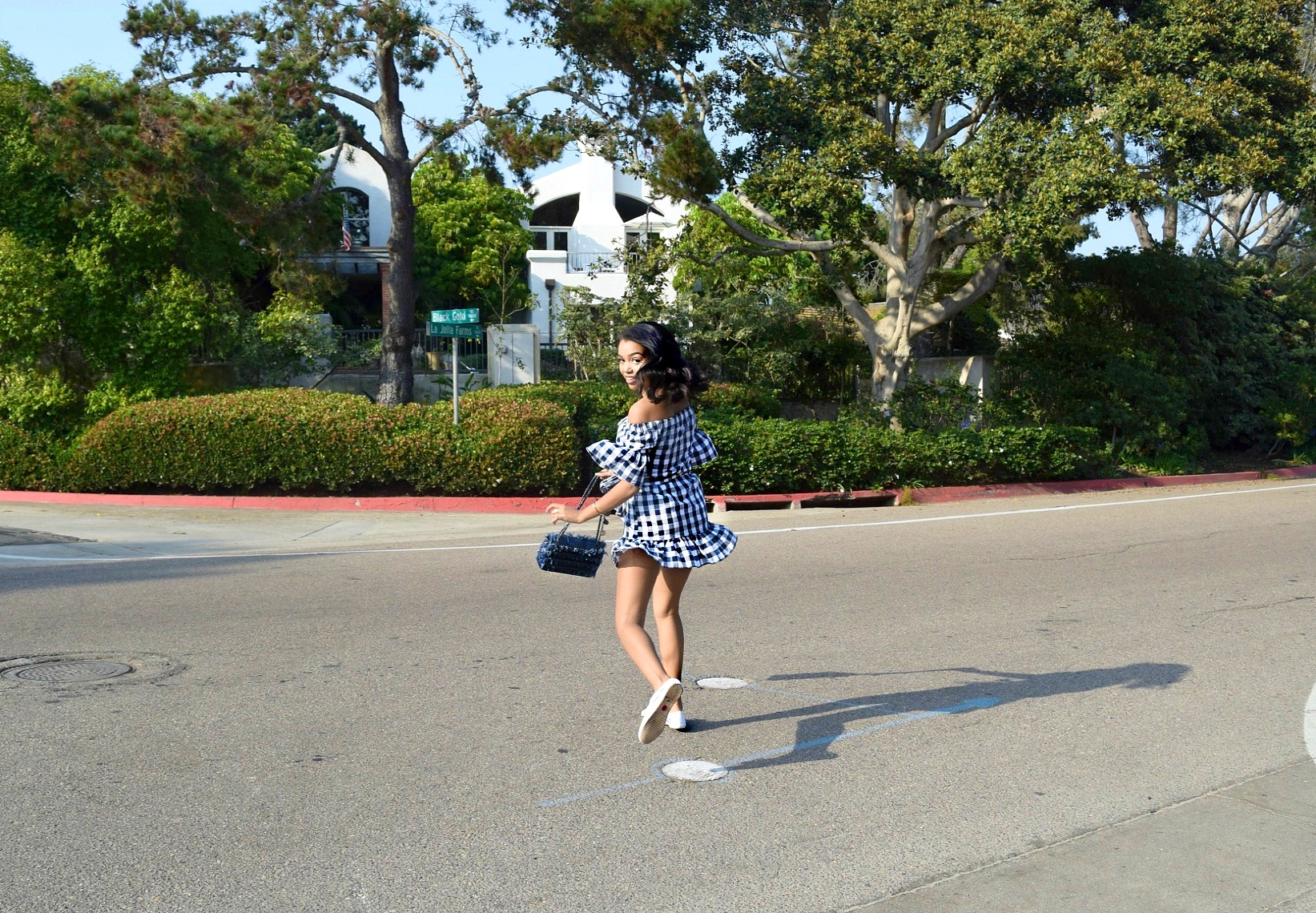 Ga Ga For Gingham // Feiyue Sneakers // Storets Dress // Chanel Flap Bag // Los Angeles Fashion Blogger // San Diego Summer Street Style: To Style, With Love