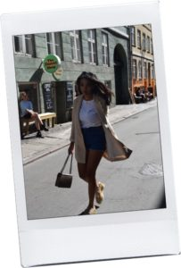 Copenhagen, Denim in Denmark // Chanel Flap Bag // Los Angeles Fashion Blogger Daphne Blunt // Commes Des Garcons // Denim Zara // Miu Miu Ballet Ballerina Flats: To Style, With Love