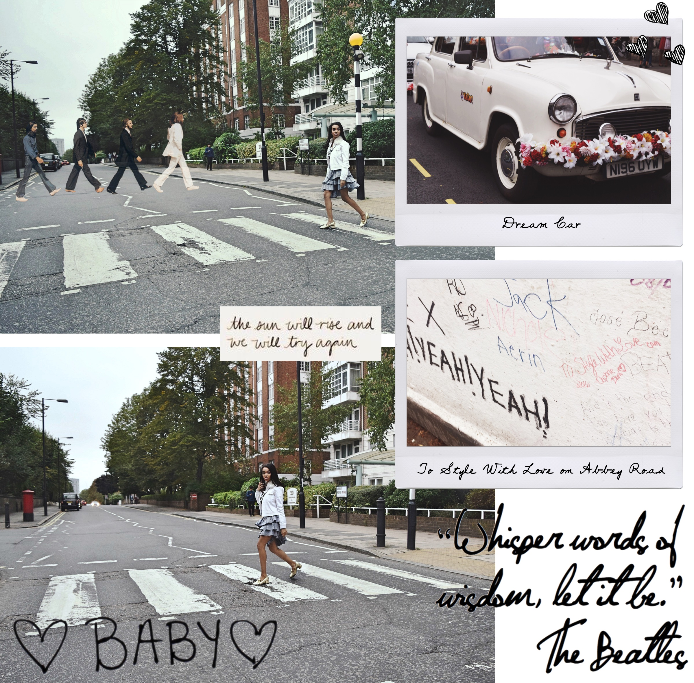 Abbey Road, London England // The Beatles, Abbey Road Studios // London Travel Diary // Los Angeles Fashion Blogger Daphne Blunt: To Style, With Love
