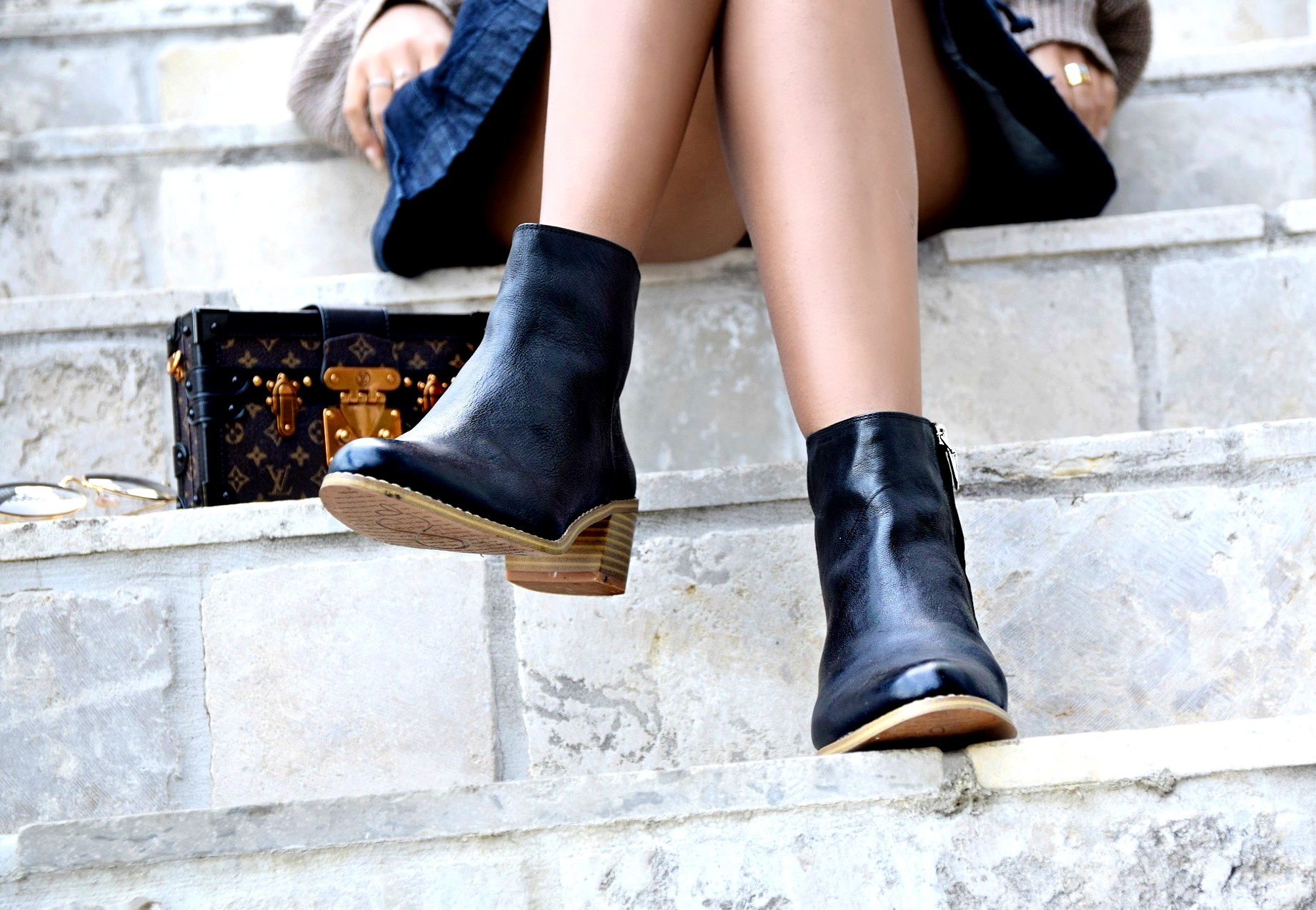 Fall La La Clarks x Zappos // Clarks Breccan Myth Booties // Los Angeles Fashion Blogger Daphne Blunt: To Style, With Love