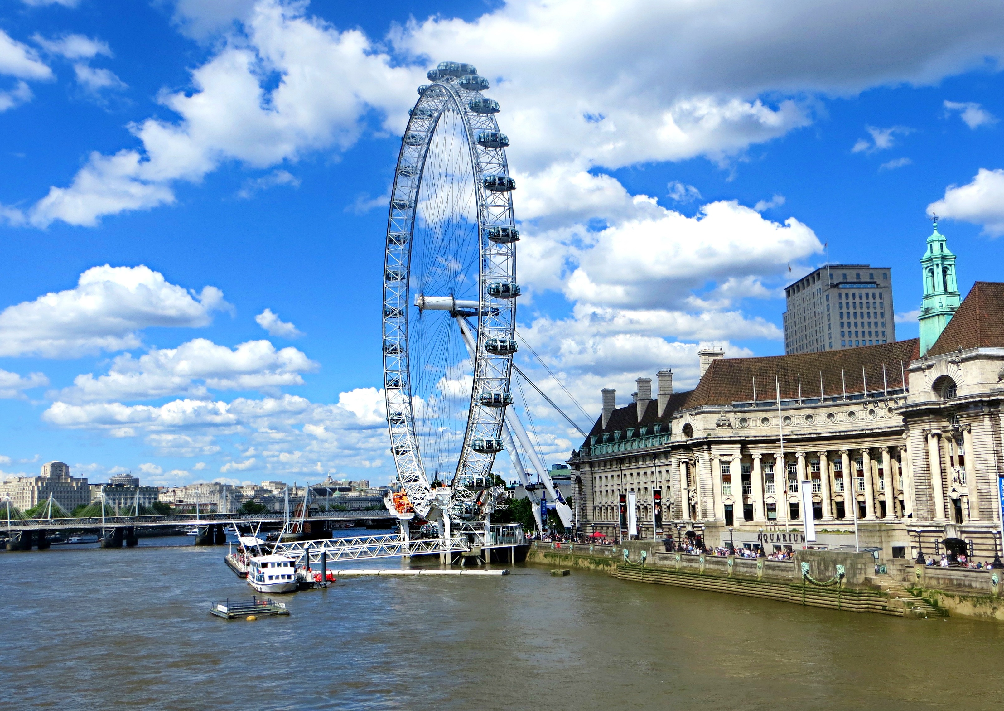 London, England Snapshots // The London Eye Ferris Wheel // London Travel Diary // Los Angeles Fashion Blogger Daphne Blunt: To Style, With Love