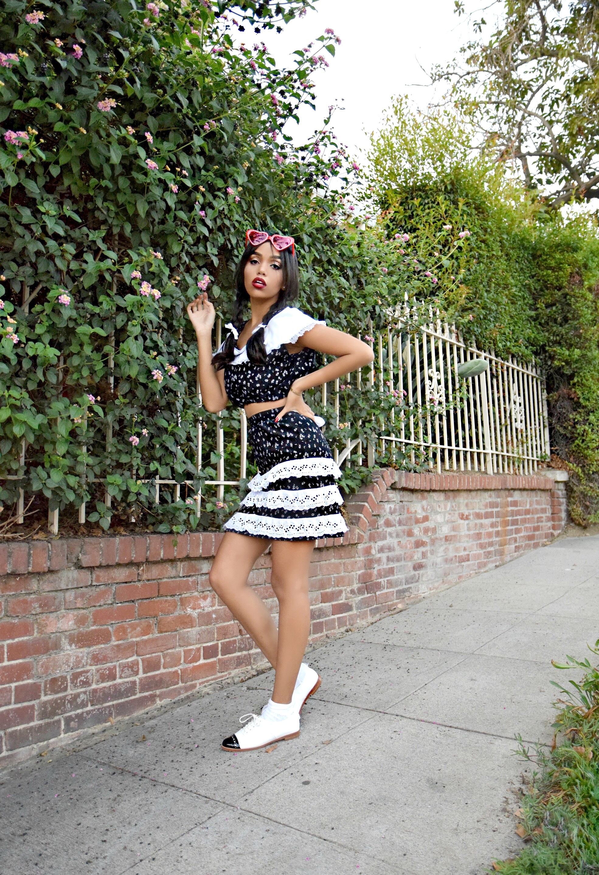 Hey Lolita Hey // Halloween 2016 // Lolita 1997 Film Inspired Halloween Costume + Look // Los Angeles Fashion Blogger Daphne Blunt: To Style, With Love