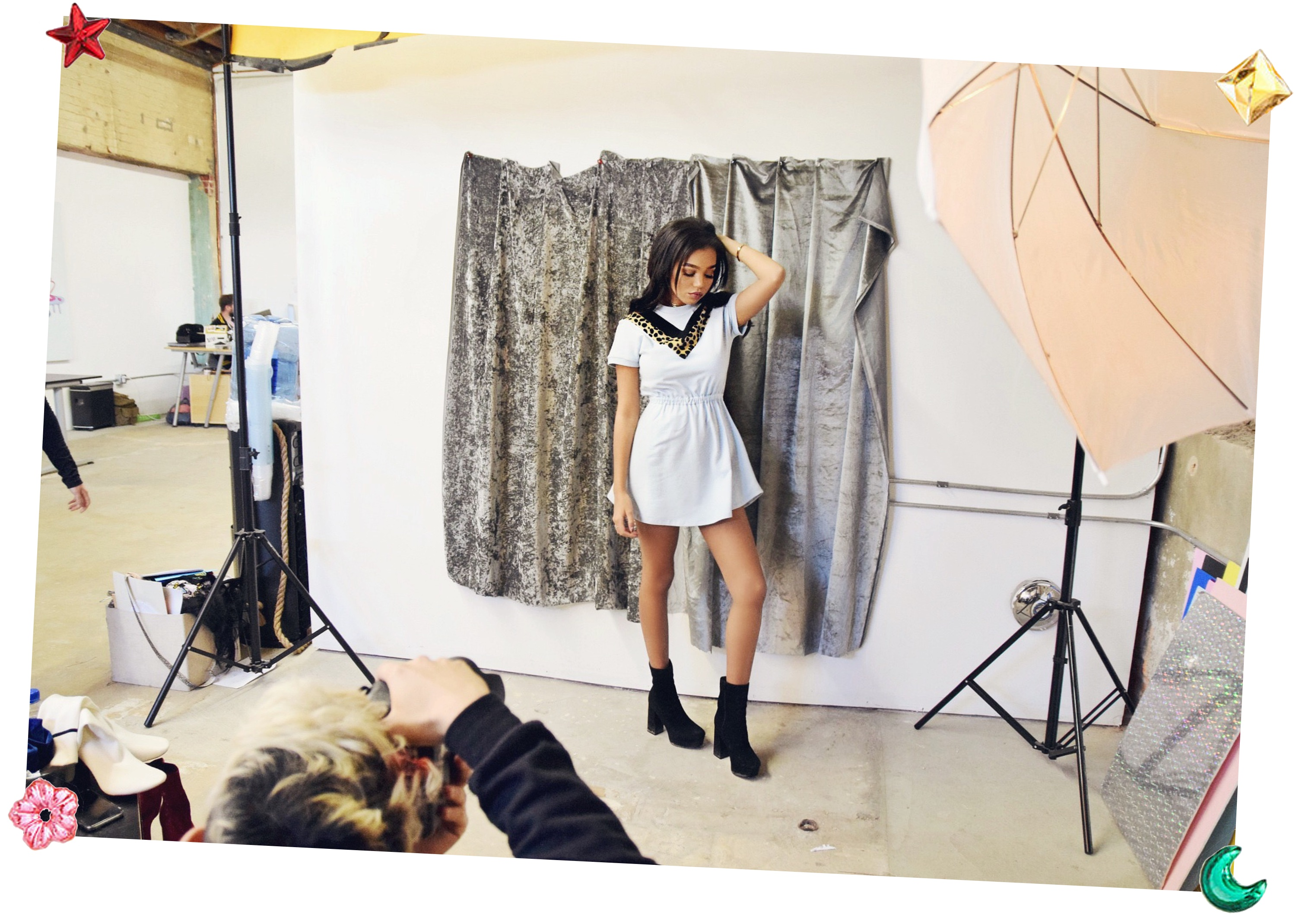 Behind The Scenes With Valfre // Ilse Valfre // Valfre Photoshoot // Los Angeles Fashion Blogger Daphne Blunt: To Style, With Love