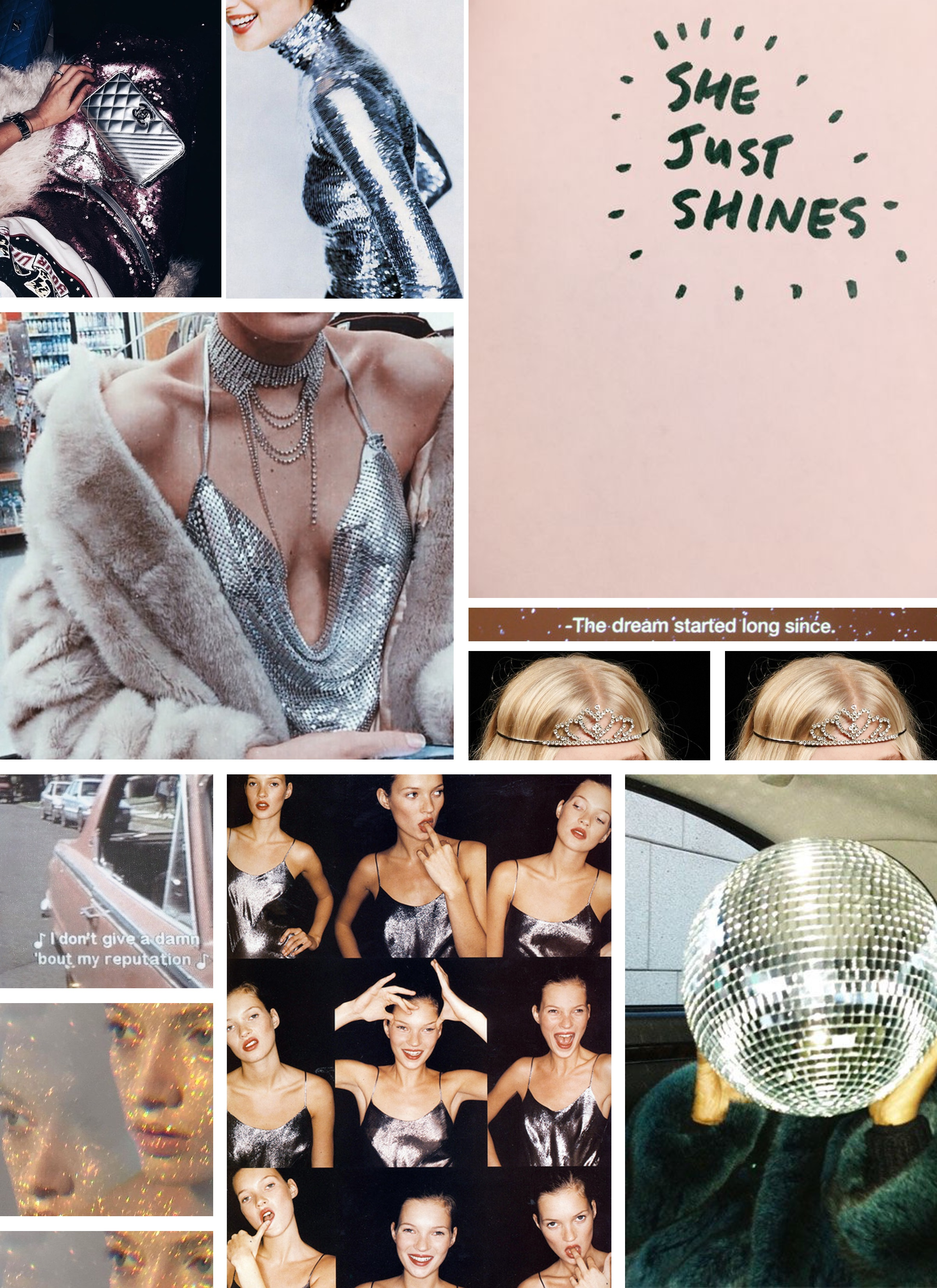 In The Mood For | Shiny Things // Trend Watching // Glitter, Sequins and All Things Shiny // Shopping List // Ready For The Weekend // Los Angeles Fashion Blogger Daphne Blunt: To Style, With Love