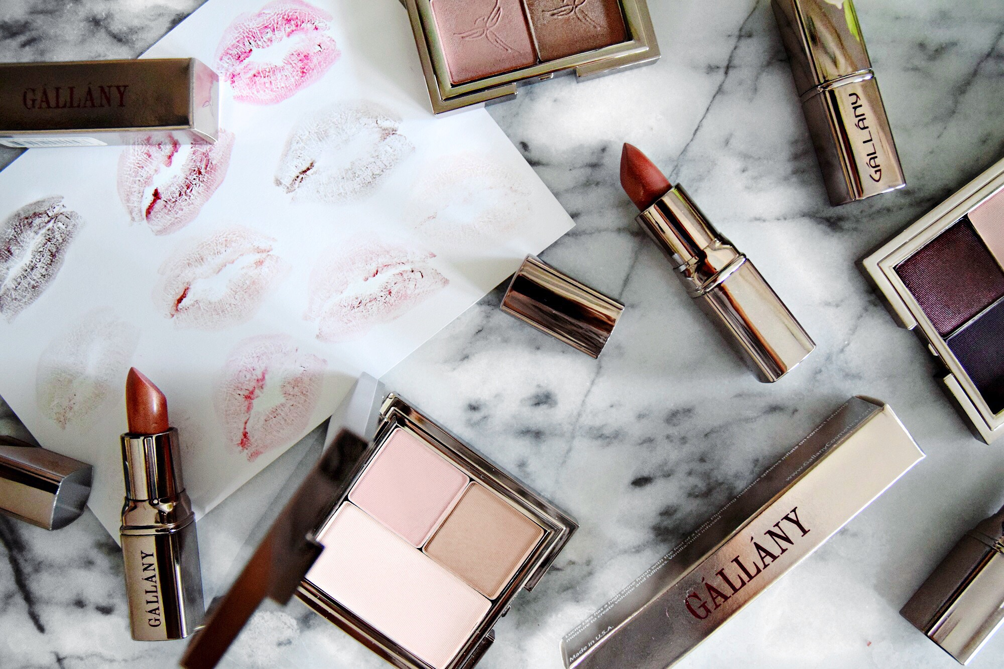 Gallany Cosmetics // On My Vanity Blog Series // Beauty, Makeup and Skincare // Los Angeles Fashion Blogger Daphne Blunt: To Style, With Love
