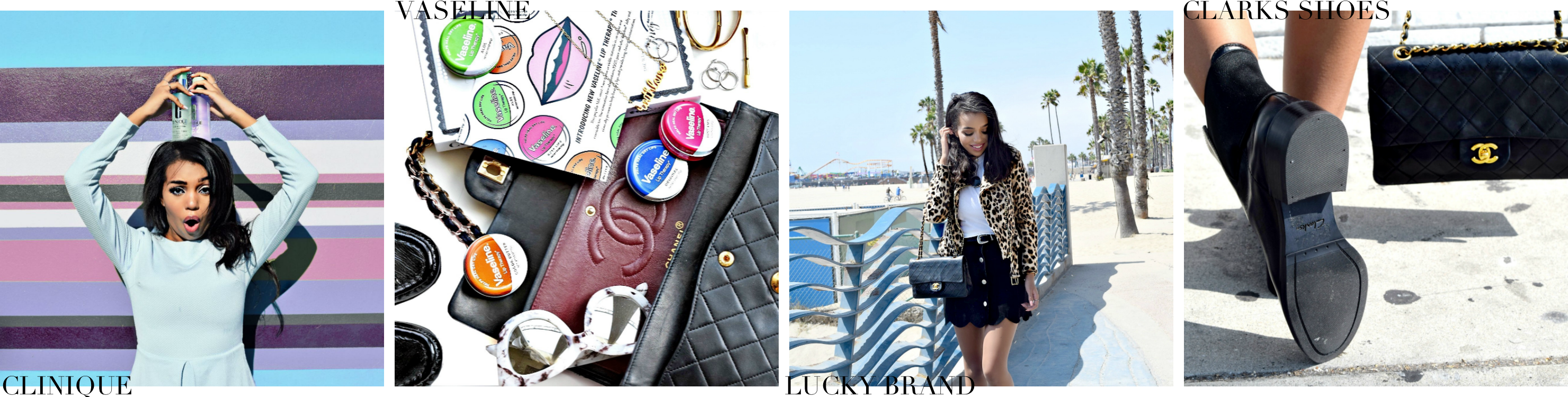 Blogging 411 | How To Collaborate With Brands // Paris Travel Diary & Street Style Spring Look // Missguided Gingham Print Top and Gingham Print Trend // Fishnet Tights // Blue Chanel Velvet Wallet On Chain // Collectively Inc Brand Collaborations // Los Angeles Fashion Blogger Daphne Blunt: To Style, With Love