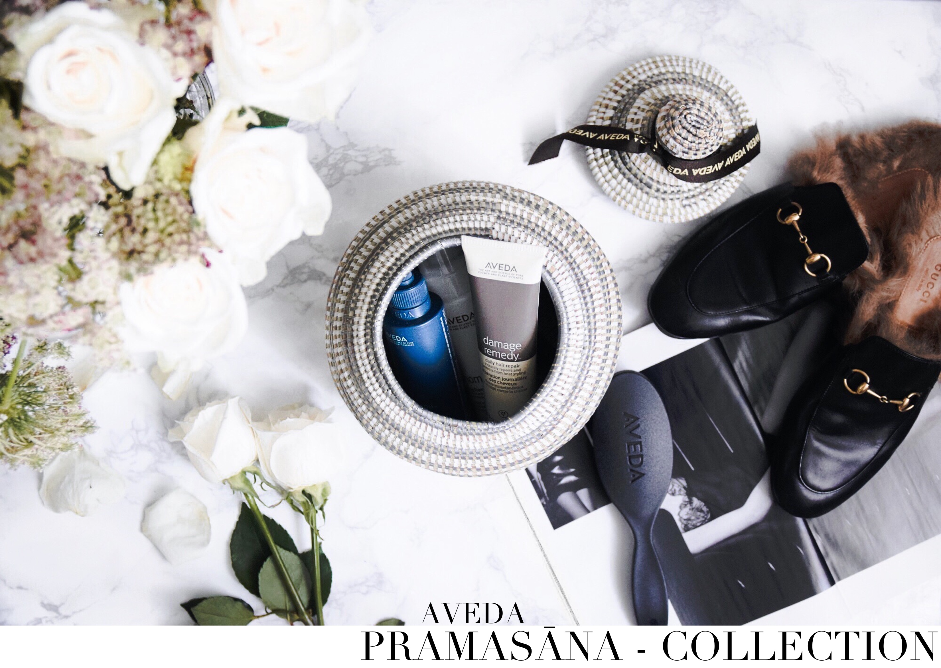 Aveda Pramasana Collection // The Three Step Process To Create A Foundation For Beautiful Hair // Aveda Pramasana Scalp Treatment // On My Vanity: To Style, With Love