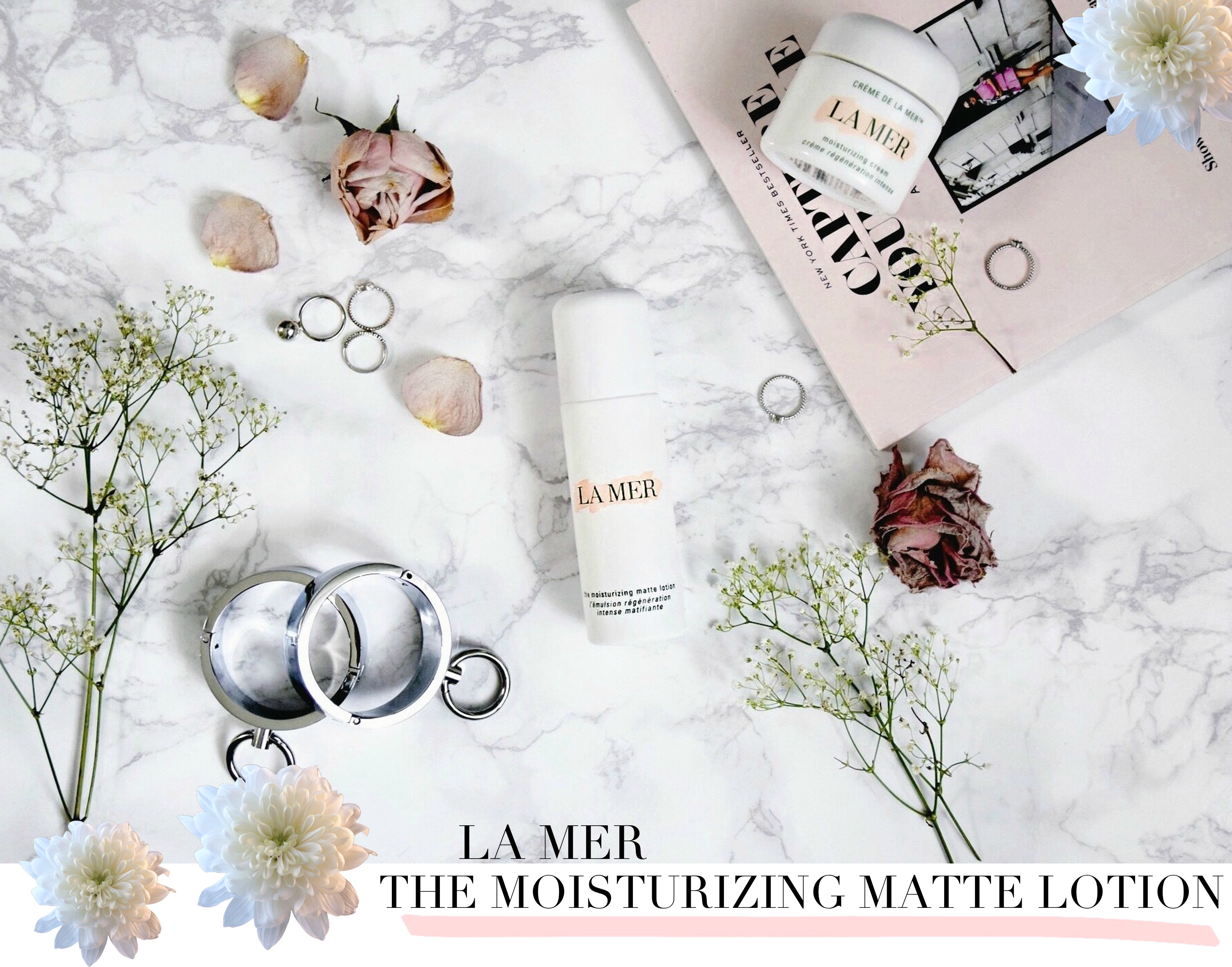 On My Vanity // La Mer - The Moisturizing Matte Lotion // Los Angeles Fashion Blogger Daphne Blunt // Beauty & Skincare Routine: To Style, With Love
