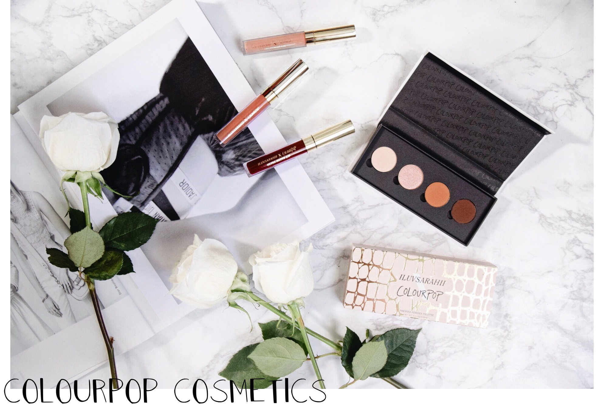 On My Vanity | New In // ColourPop Cosmetics x ILUVSARAHII // Los Angeles Fashion Blogger Daphne Blunt: To Style, With Love