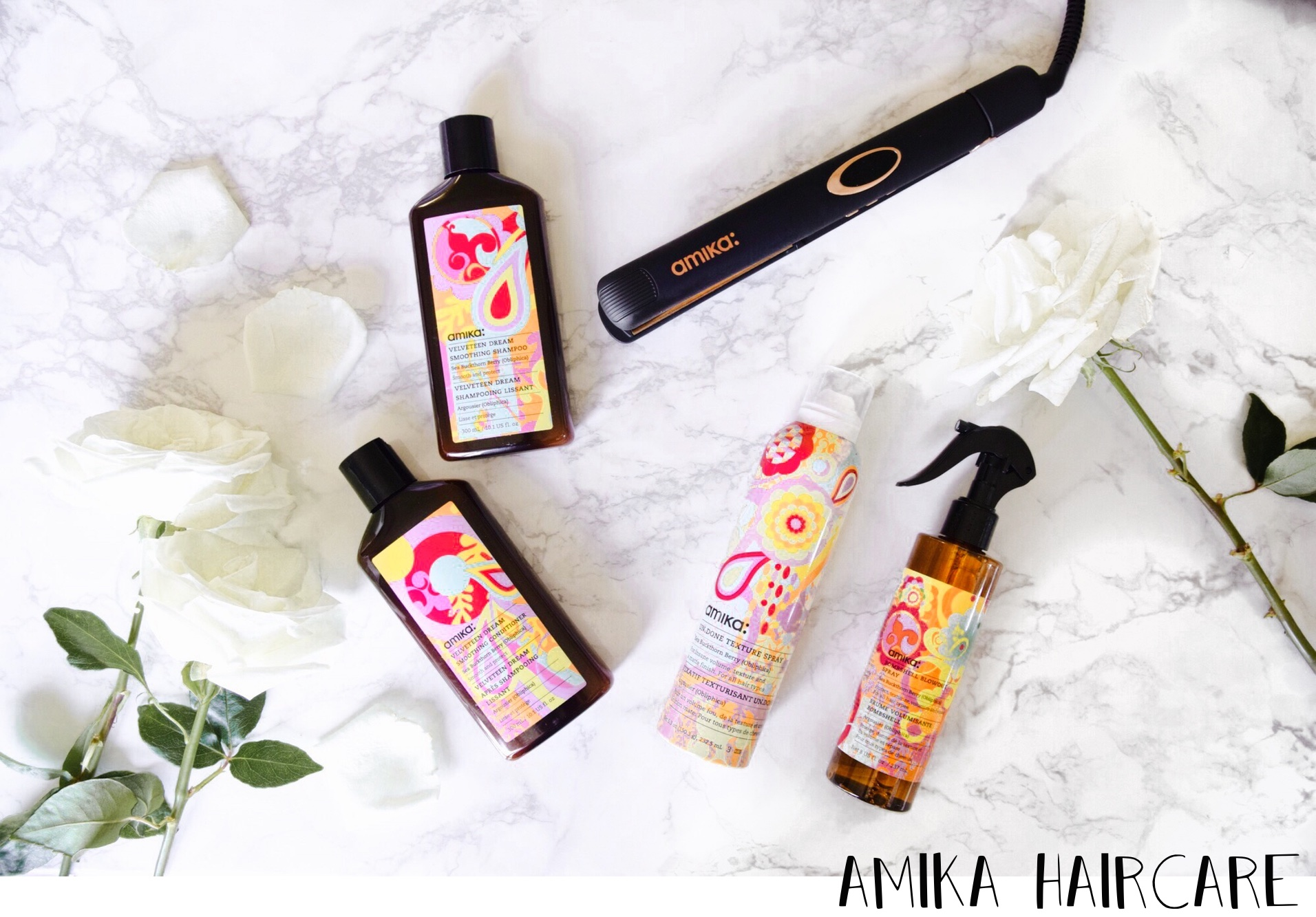 On My Vanity | New In // Amika Haircare // Los Angeles Fashion Blogger Daphne Blunt: To Style, With Love