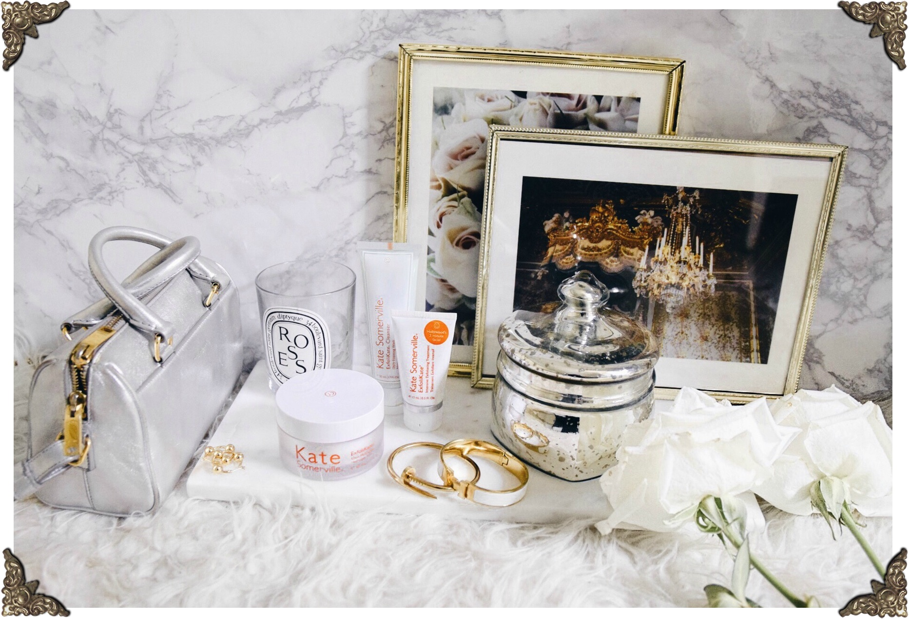 Kate Somerville ExfoliKate Glow Moisturizer // On My Vanity Beauty Series Exfolikate Cleanser & Scrub // Los Angeles Fashion Blogger Daphne Blunt: To Style, With Love