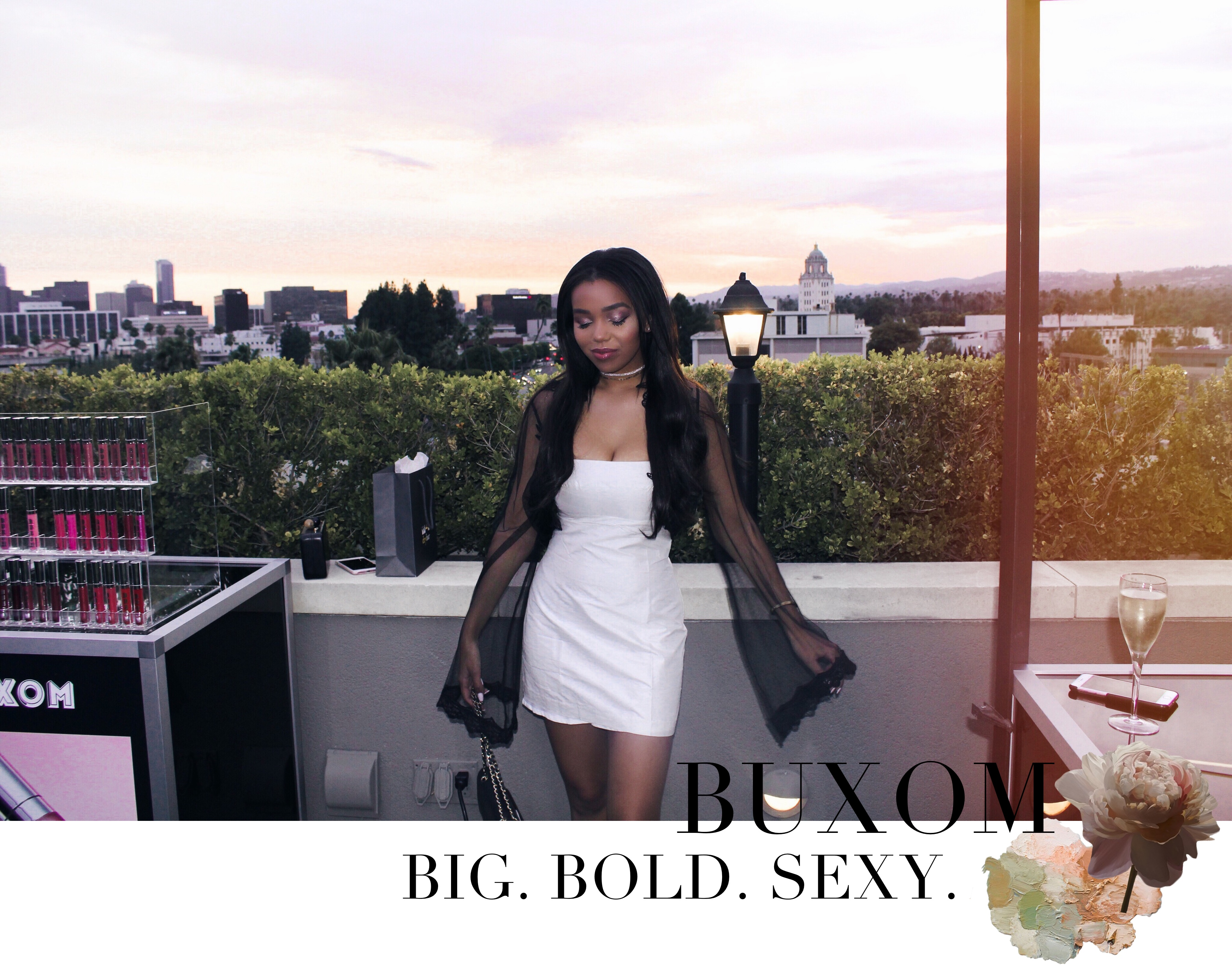Buxom - Big, Sexy, Bold // Buxom Cosmetics New Product Launch in Beverly Hills California // Los Angeles Fashion Blogger Daphne Blunt: To Style, With Love