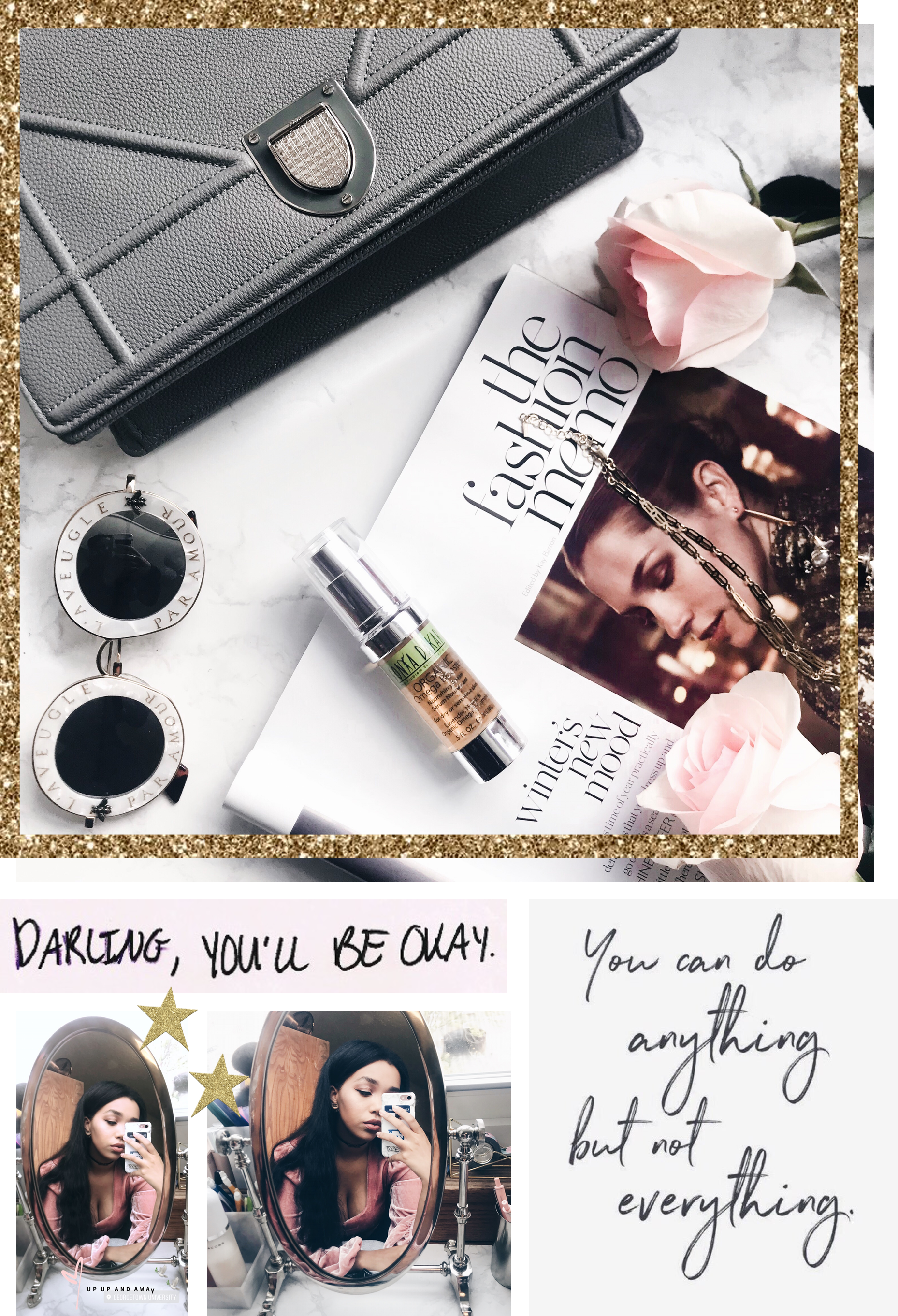 On My Vanity: Sonya Dakar Organic Omega Booster // Beauty Review // Los Angeles Fashion Blogger Daphne Blunt: To Style, With Love